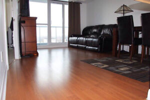 Beautiful one bedroom+ den at Yonge and Sheppard, High floor.