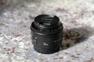 Canon EF 50mm F1.8 II Lentille - Lens