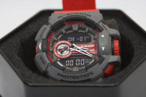 **RED** Casio G-Shock GA-400 Mens Watch (#12785)