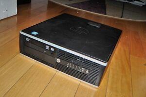 REFURBISHED HP i3 WORKSTATION COMPUTER DC6200 SFF, 3.1 GHz
