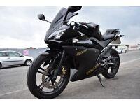Yamaha yzf r125 125cc 2011 11000miles learner legal