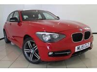 2015 15 BMW 1 SERIES 1.6 116I SPORT 5DR 135 BHP