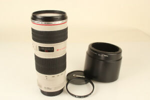 Canon EF 70-200mm f4 L USM (non IS) with hood