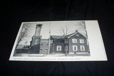 1900s Woodbury NJ Deptford Library Friendship (Deptford Nj)