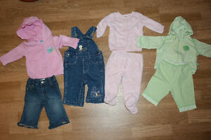 Baby Girl 3 Mos & 3-6 Mos Clothing Lot