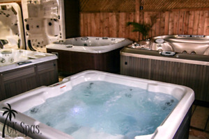 Like New hot tubs for less open late 15-20h