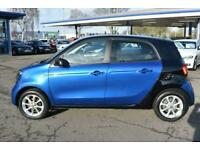 2017 smart forfour 1.0 5dr Passion Hatchback Petrol Manual