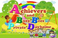 ACHIEVERS AND BUSY BEES  DAYHOME AT PANORAMA HILLS