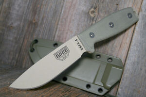 Esse 4 with paracord wrapped roto-molded sheath