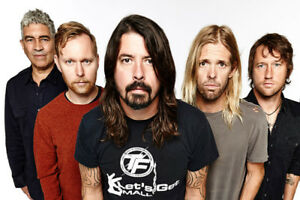 Foo Fighters in Toronto July 12 - 3 GA tickets! Sold out show!