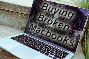 Non working/ liquid damaged Macbooks
