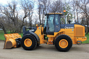 2010 John Deere 524K Wheel Loader
