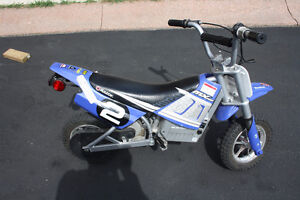 Electric motocross dirt bike