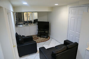 One Bedroom Basement Apartment for Rent - Markham and 14th