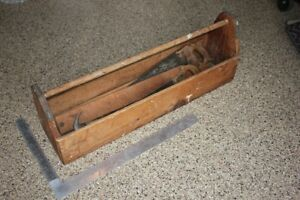 Old Style Carpenter's Tool Box