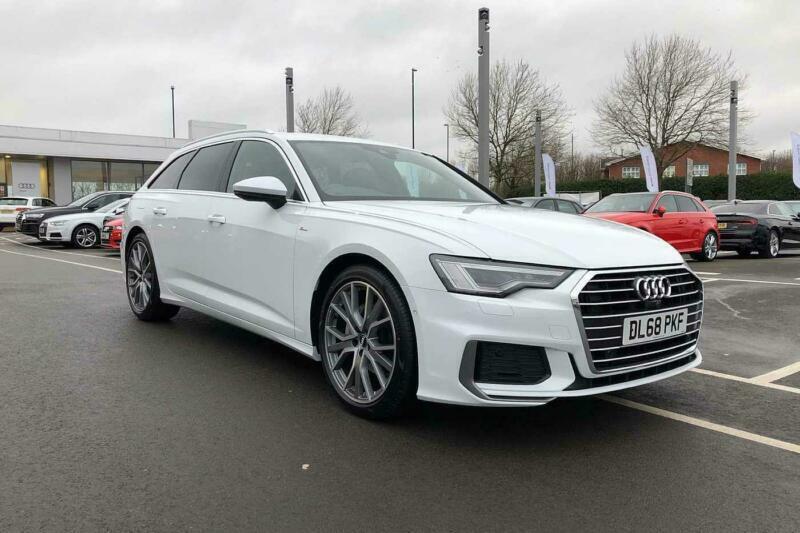 2019 Audi A6 Avant S Line 40 Tdi 204 Ps S Tronic Diesel White