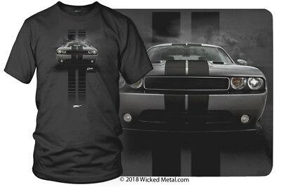 Dodge Challenger Stripes - Muscle Car T-Shirt - Challenger t-Shirt - $19.99