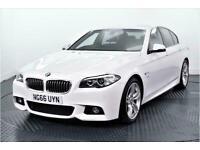 2016 BMW 5 Series 2.0 520d M Sport Saloon 4dr Diesel Automatic (119 g/km, 190 bh