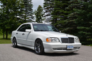 High performance modified classic Mercedes-Benz 1999 C43 AMG