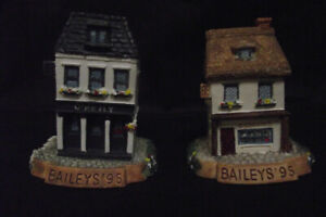 BAILEY COLLECTIBLES - Miniature Houses/Pubs
