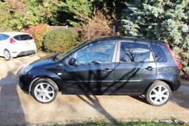 2008 58 FORD FIESTA 1.4 ZETEC CLIMATE TDCI 5D 68 BHP DIESEL - CHEAP CAR