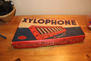 Old Child's Toy Glass Xylophone London Ontario image 1