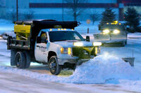 Snow Removal Salt and Sand Spreading Winter Property Services