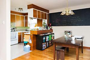 Spacious suite, quiet building,heat/ht wtr inc