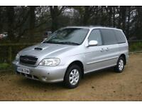 DIESEL 7 SEAT KIA SEDONA LE Done 77287 Miles with SERVICE HISTORY and NEW MOT