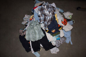 Boys Clothing - Huge Bag Full 3 to 6  months
