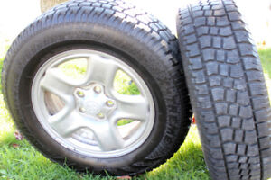2 16in Toyota Rav4 / Highlander   winter tires and rims