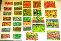 ~>Custom Graffiti Stickers and Drawings<~