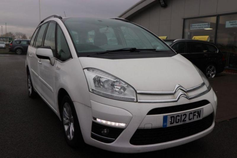 2012 12 citroen c4 picasso 1 6 grand e hdi vtr plus egs 5d auto 110 bhp diesel in durham. Black Bedroom Furniture Sets. Home Design Ideas