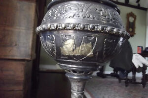 ANTIQUE BANQUETTE LAMP Edmonton Edmonton Area image 4