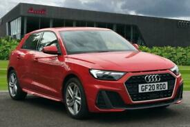 image for 2020 Audi A1 Sportback S line 35 TFSI  150 PS S tronic Auto Hatchback Petrol Aut