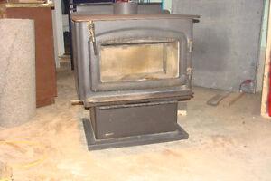 Regency free standing wood stove