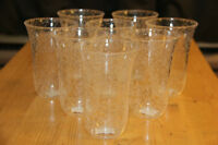 New plastic drinking glasses, set of 8.Great for patio, camping