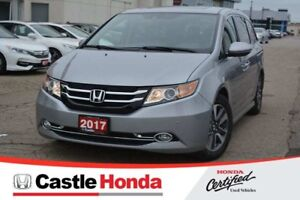 2017 Honda Odyssey Touring/ONE OWNER! ACCIDENT FREE!