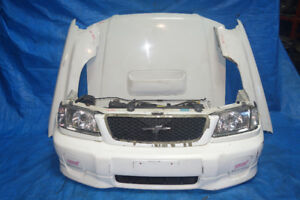 JDM Subaru Forester STi SF5 Front End Conversion Nose Cut 98-02