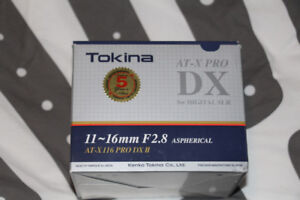 Tokina AT-X DX PRO 11-16mm Lens