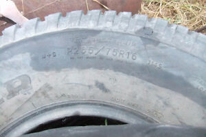 4 assorted 235/85 16 Tires 2 ford 8 hole wheels Prince George British Columbia image 4