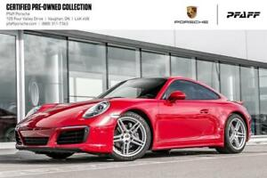 2017 Porsche 911 Carrera 4 Coupe PDK - LOW KMS, Clean CARFAX, CP