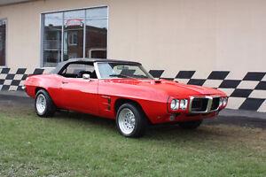 Pontiac Firebird convertible 1969