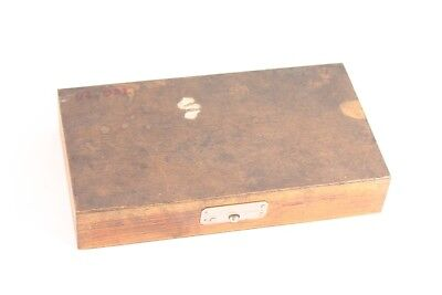 Old Case Wood For Gauge Transport Box Old Vintage Decor Box Tin