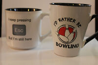 A great gift for a Bowler....A bowling mug