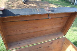 Old Antique Settler's Box/Chest London Ontario image 8