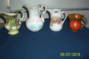 4 VINTAGE PITCHERS--ON CHOICE--##NEW PRICING##