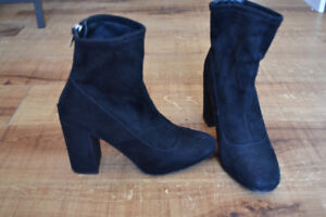 Cute black boots - dressy booties