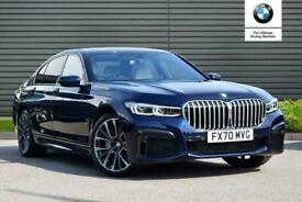 image for 2020 BMW 7 SERIES DIESEL SALOON 730d M Sport 4dr Auto Saloon Diesel Automatic