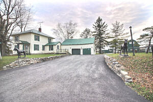 Hobby Farm  in Lunenburg Ont,OPEN HOUSE MAY 7TH  1 - 4 PM
